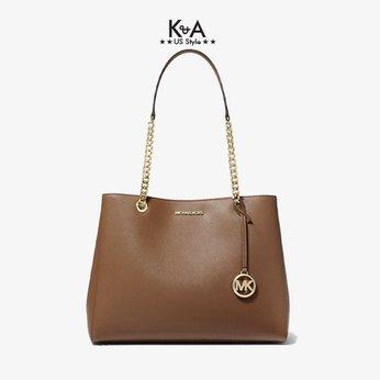 Túi xách Michael Kors hàng hiệu đeo vai Susannah Large Luggage Ew Tote Leather Bag, túi xách MK hàng hiệu đeo vai màu trắng, túi xách michael kors hàng hiệu dạo phố, túi xách michael kors chính hãng authentic công sở, giỏ xách MK xách tay hằng ngày