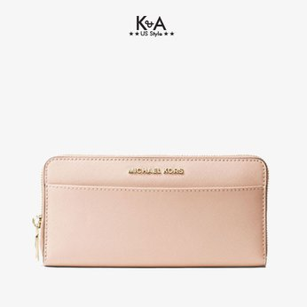 Ví michael kors cầm tay nữ 32T7GTVZ3L- Saffiano Leather Continental Wallet- pink