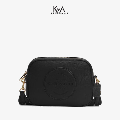 Túi xách Coach nữ đeo chéo hàng hiệu 10011289JAX- LTH DMPSY XB-IMBLK - black