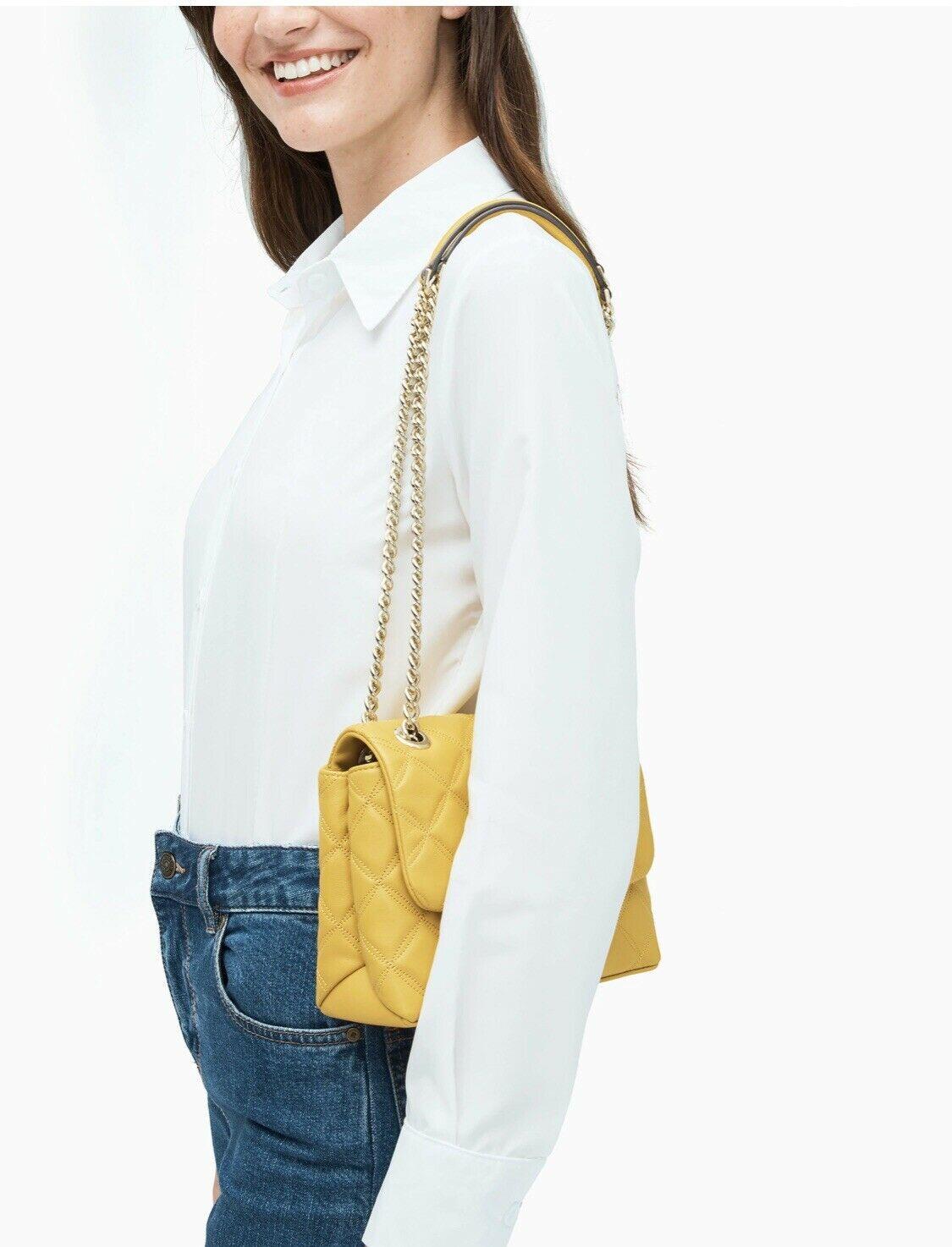 Túi xách Kate Spade nữ đeo chéo hàng hiệu WKRU7074 NATALIA SMALL FLAP CROSSBOBY