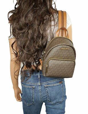 Erin Small Brown Conv Backpack