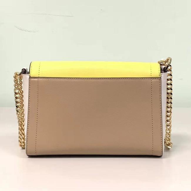 Túi xách hàng hiệu  Michael Kors 35S0GYKF2T-KINSLEY MD SHOULDER BAG - medium - bisque multi