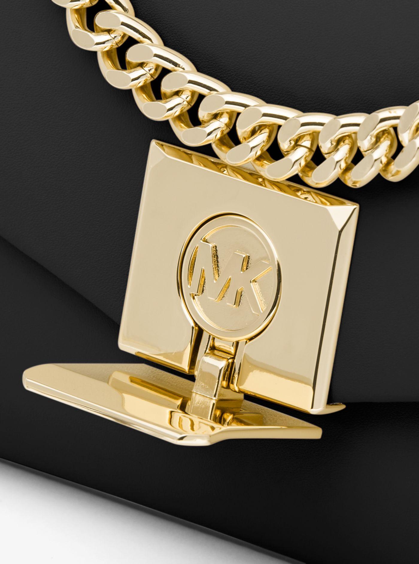 Túi xách Michael Kors hàng hiệu nữ 35T0GXPC1O-LITA SMALL CROSSBODY BAG - black - Mini
