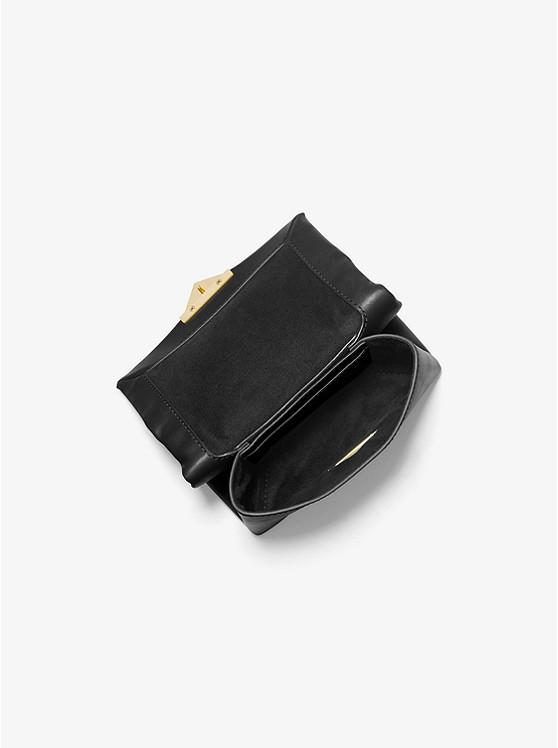 Túi xách Michael Kors hàng hiệu nữ Cece Mini BlackXs Chain Xbody Bag