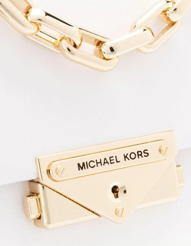Túi xách Michael Kors hàng hiệu nữ Cece Mini Optic White Xs Chain Xbody Bag, túi xách Michael Kors hàng hiệu nữ, túi xách Mk mini màu trắng, túi xách MK đeo chéo màu trắng, giỏ xách Michael Kors mini đeo chéo