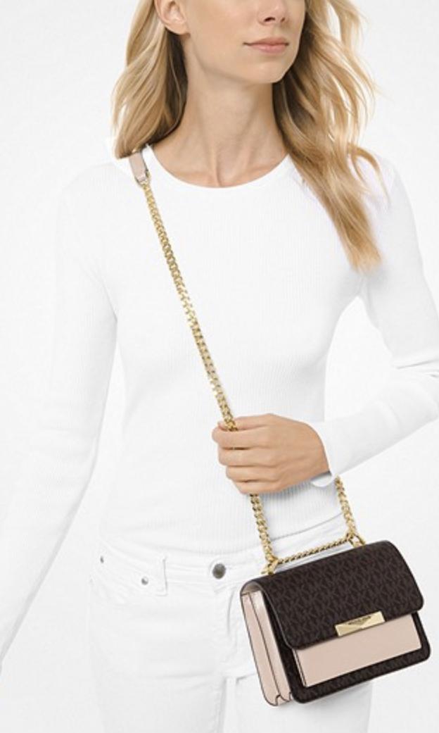 Túi xách Michael Kors hàng hiệu authentic Jade XS Suggest Crossbody Bag