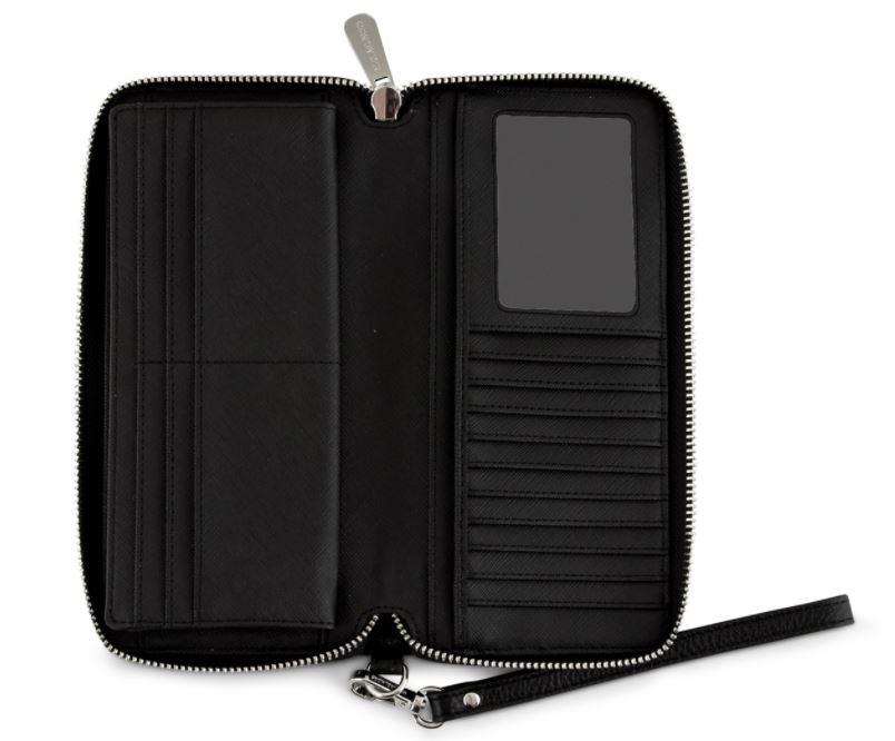 Ví cầm tay hàng hiệu Michael Kors Jet Set Travel Continental Leather Wallet