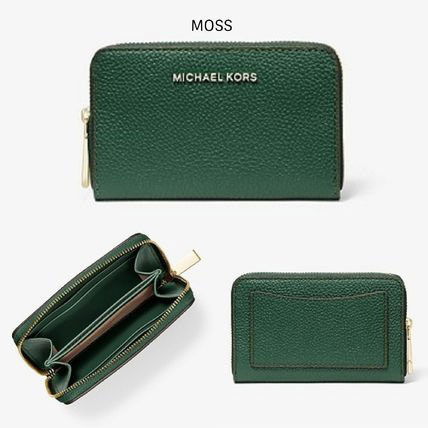 Ví cầm tay mini Michael Kors hàng hiệu JET SET- SM ZA CARD CASE LEATHER-MOSS