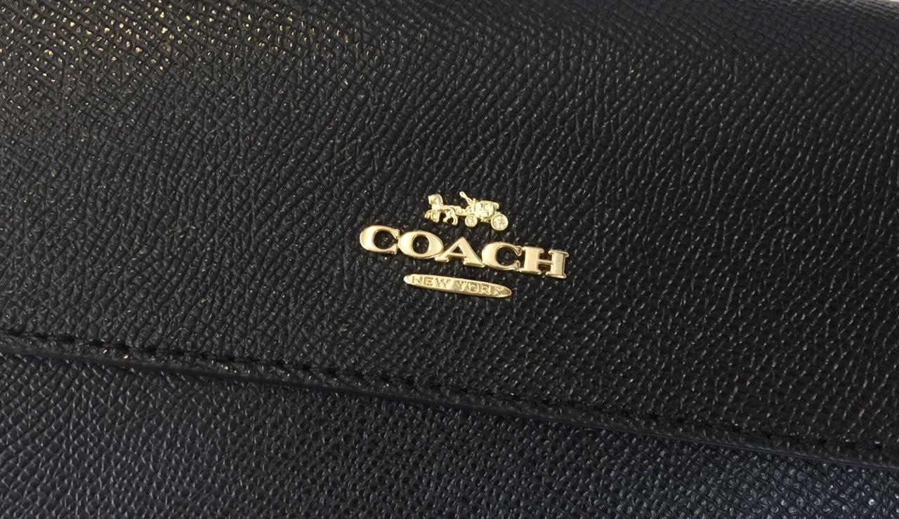 Ví cầm tay hàng hiệu Coach 10011249JAX-F73793-CSGRN FLDVR WRL - black