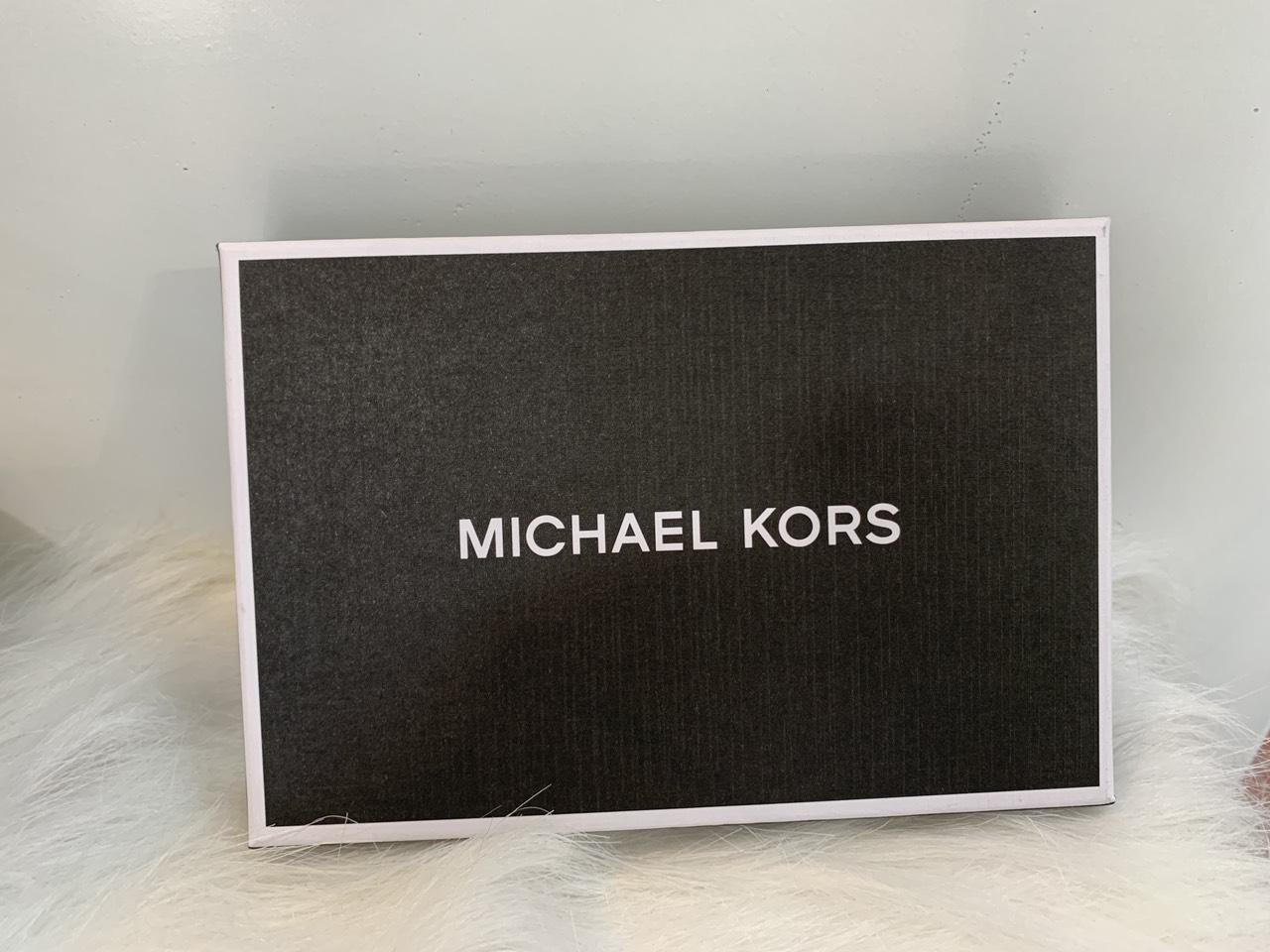 Michael Kors gấp GIFTING SLIM BILL W KEY BOX SET LEATHER- NAVY vi michael kors nam  gap mini danh cho nam