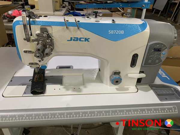 Máy may 2 kim ổ lớn JACK  Jk-58720B