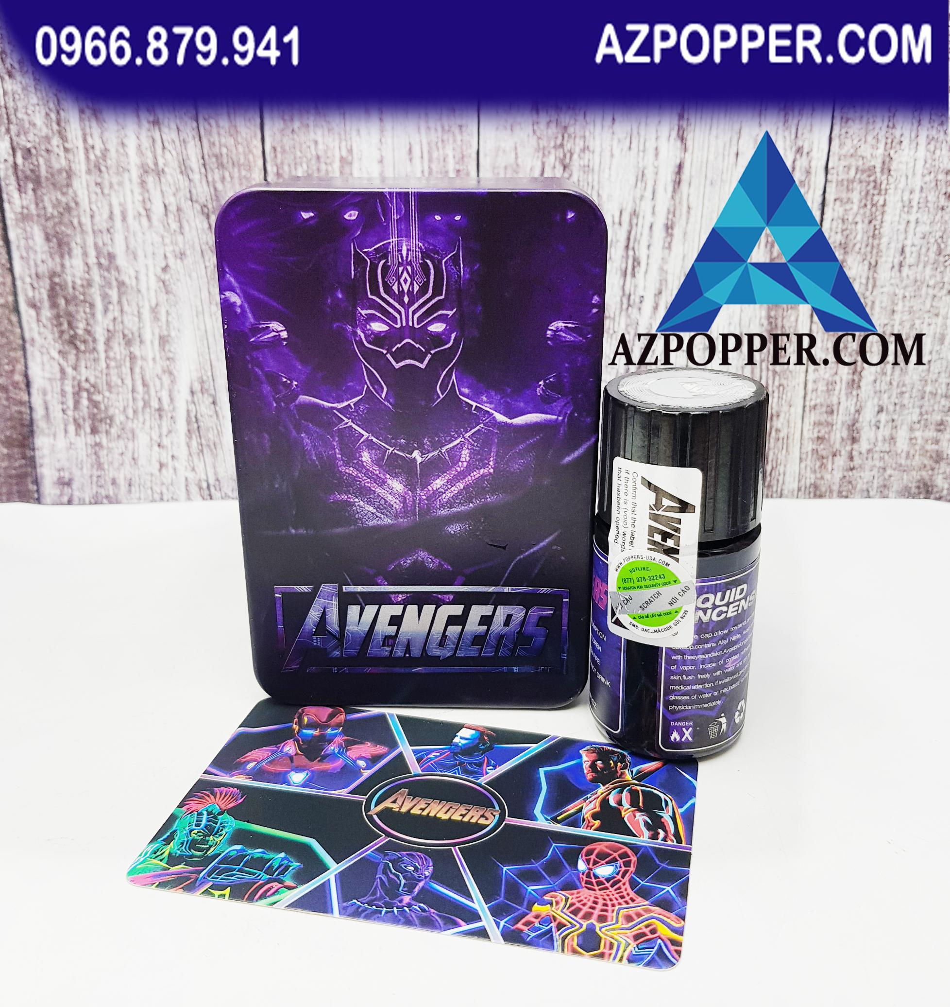 Popper Avenger hộp xanh dương 30ml