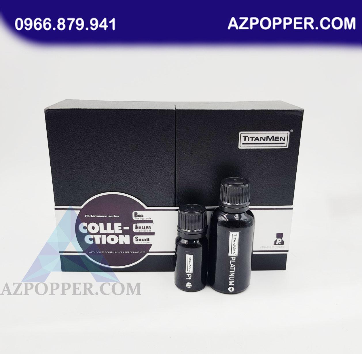 Popper Titanmen Platinum 40ml đẳng cấp của sự mạnh mẽ