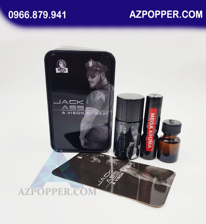 Popper JACK ASS 40ml tột đỉnh của sự khoái lạc