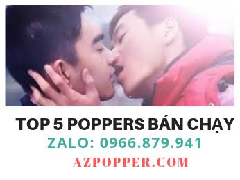 Top 5 những sản phẩm popper 10ml bán chạy trong tháng