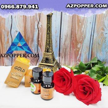 Popper Hero Gold 10ml mang đến sự cuồng nhiệt trong cơ thể bạn