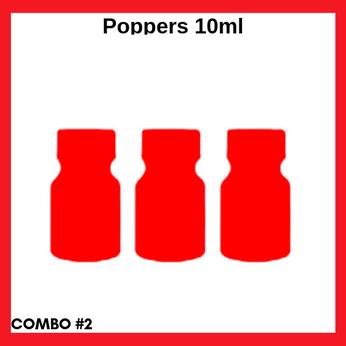 Combo #2 Ba chai popper 10ml cổ điển