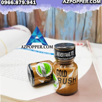 Popper Gold Rush 10ml