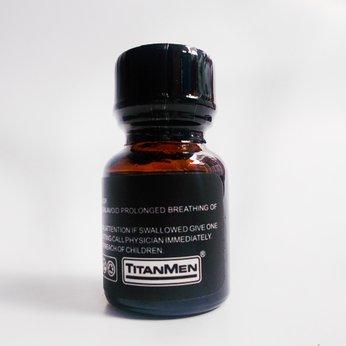 Poppers Titanmen Black 10ml mạnh mẽ cho người mới sử dụng