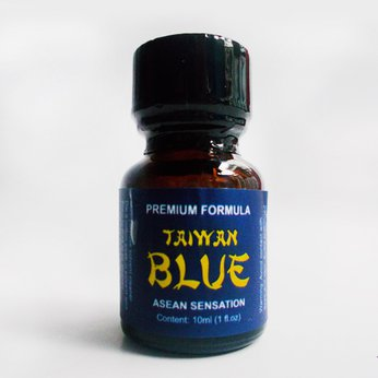 Poppers Taiwan Blue 10ml mạnh