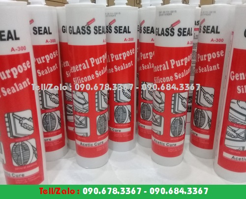 KEO SILICONE GLASS SEAL A100, A300