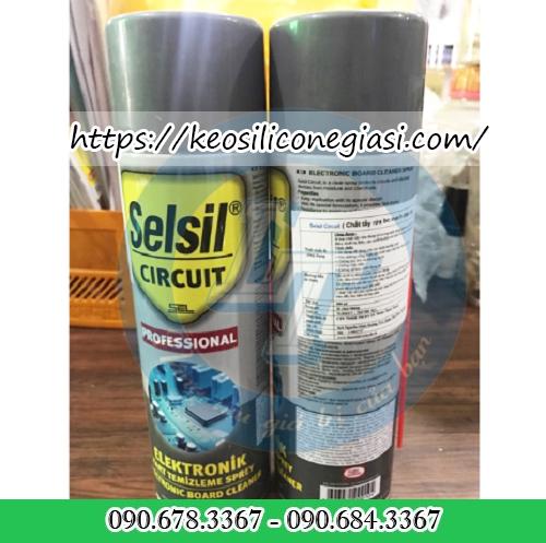 CHẤT TẨY RỬA MẠCH ĐIỆN ( SELSIL CIRCUIT CLEANER )