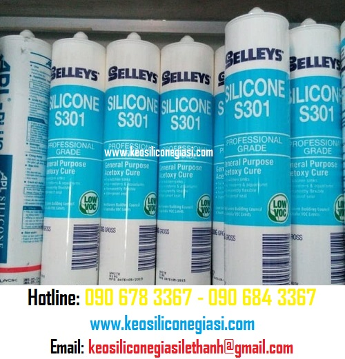 Keo silicone selleys S301
