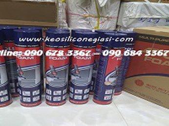 CÔNG DỤNG KEO APOLLO SUPER FOAM VÒI 750ML