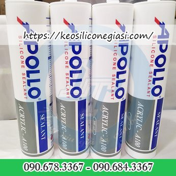 KEO SILICONE A100 TRẮNG SỮA