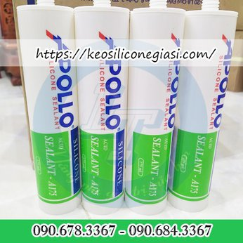KEO SILICONE A175  TRẮNG TRONG