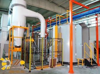 Lắp đặt hệ thống phun sơn tĩnh điện