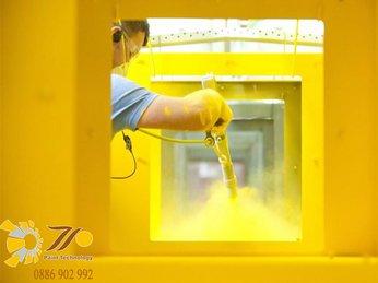 Sơn tĩnh điện là gì và ứng dụng của sơn tĩnh điện