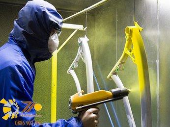 Bật mí sơn tĩnh điện khác sơn thường như thế nào?