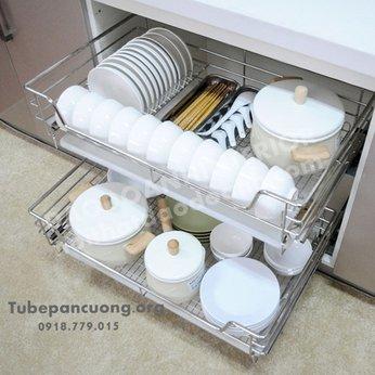 Combo Úp chén khô tủ bếp dưới