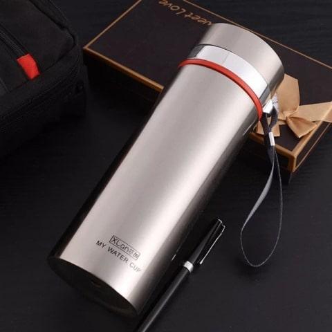 Bình giữ nhiệt inox 304 cao cấp có lõi lọc trà