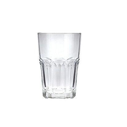 Ly  thủy tinh cafe sọc khía 420ml | NHẬN IN LOGO GIÁ RẺ