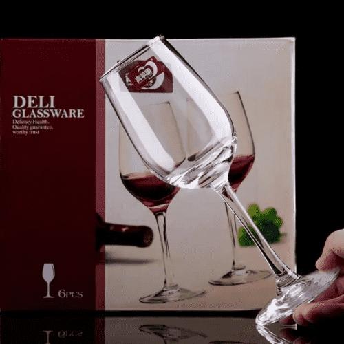 Ly  uống rượu vang đỏ | NHẬN IN LOGO GIÁ RẺ