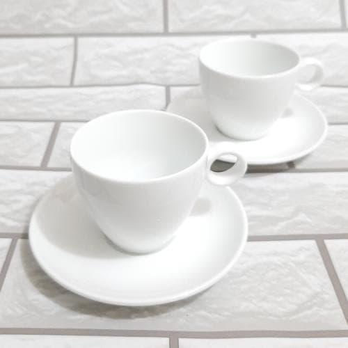 Ly sứ cafe có quai tròn 205ml - NHẬN IN LOGO GIÁ RẺ