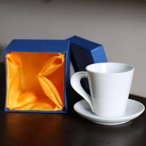 Ly sứ quai xoắn espresso 85ml - NHẬN IN LOGO GIÁ RẺ