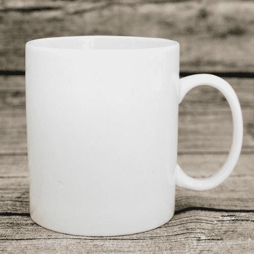 Ly sứ có quai chữ C uống cafe 400ml - NHẬN IN LOGO GIÁ RẺ