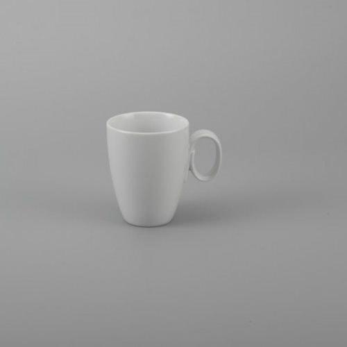 Ly sứ  trắng in logo 250ml- NHẬN IN LOGO GIÁ RẺ