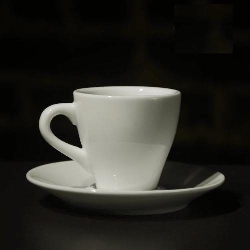 Ly sứ trắng cafe espresso 90ml - NHẬN IN LOGO GIÁ RẺ