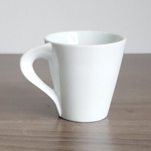 Ly sứ quai xoắn latte cafe 200ml - NHẬN IN LOGO GIÁ RẺ