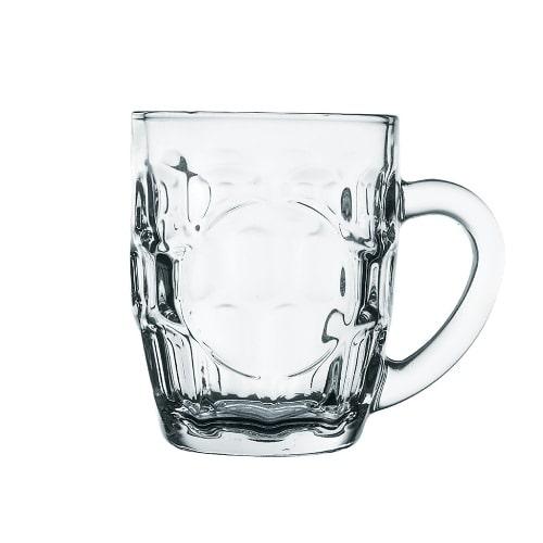 Ly thuỷ tinh uống bia hình mảng cầu | NHẬN IN LOGO GIÁ RẺ NHẬP KHẨU