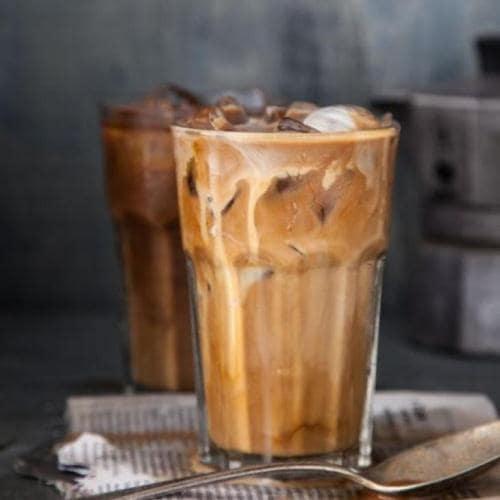Ly  thủy tinh cafe sọc khía 380ml | NHẬN IN LOGO GIÁ RẺ