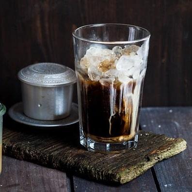 Ly  thủy tinh cafe sọc khía 200ml | NHẬN IN LOGO GIÁ RẺ
