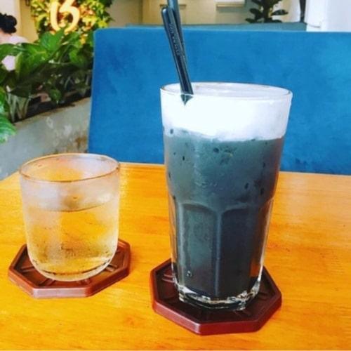 Ly  thủy tinh cafe sọc khía | NHẬN IN LOGO GIÁ RẺ