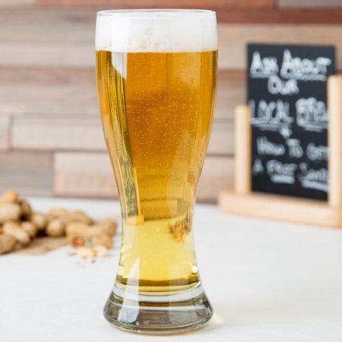 Ly thủy tinh uống bia cao cấp -  NHẬN IN LOGO GIÁ RẺ