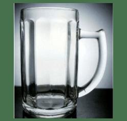 Ly thuỷ tinh giá rẻ Indonesia có quai uống bia MSG-385 | LY NHẬP KHẨU