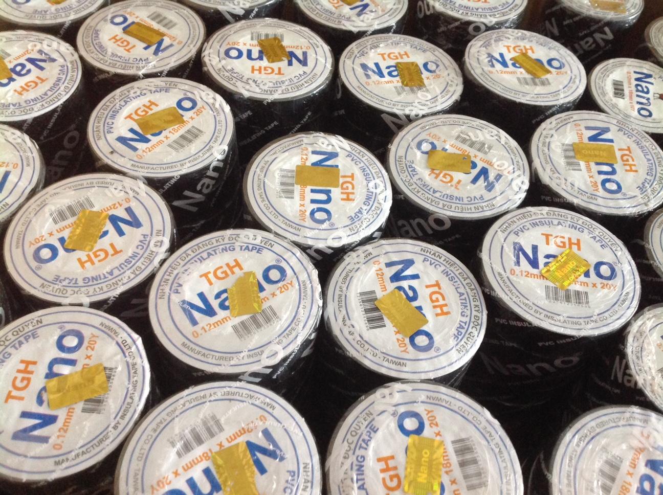 Băng keo điện Nano 10Y và 20Y